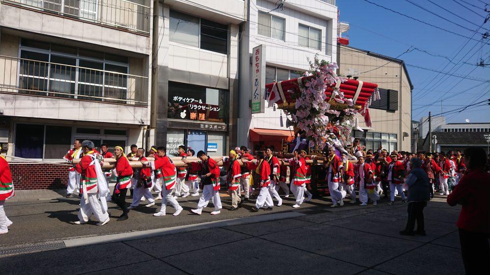 土庄太鼓祭り